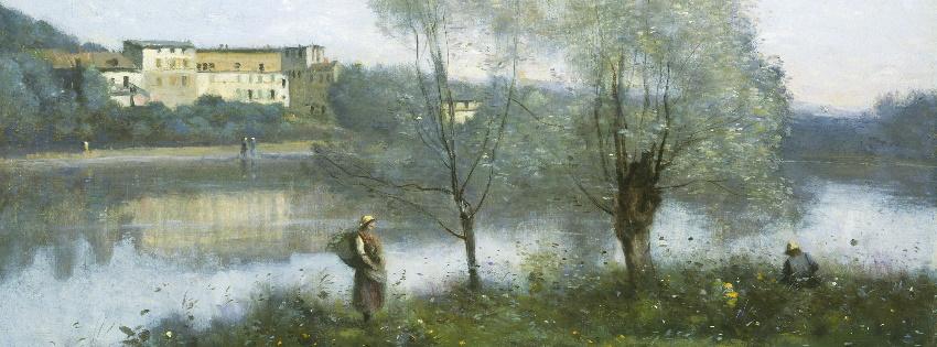 Ville d'Avray, 1867, Jean-Baptiste-Camille Corot