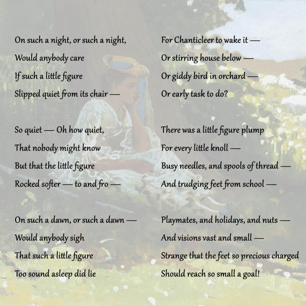 Bo-Peep, 1878, Winslow Homer