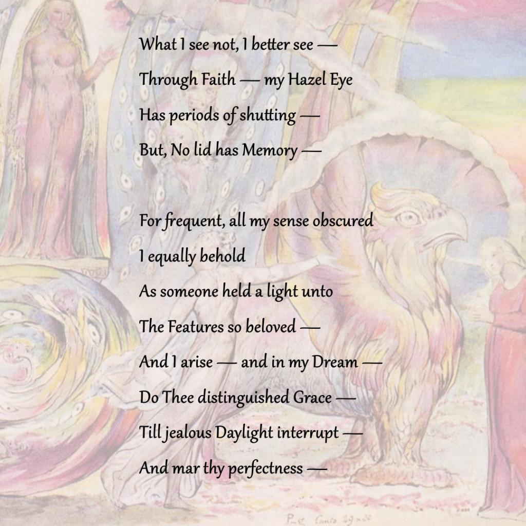 Beatrice Addressing Dante, 1824, William Blake