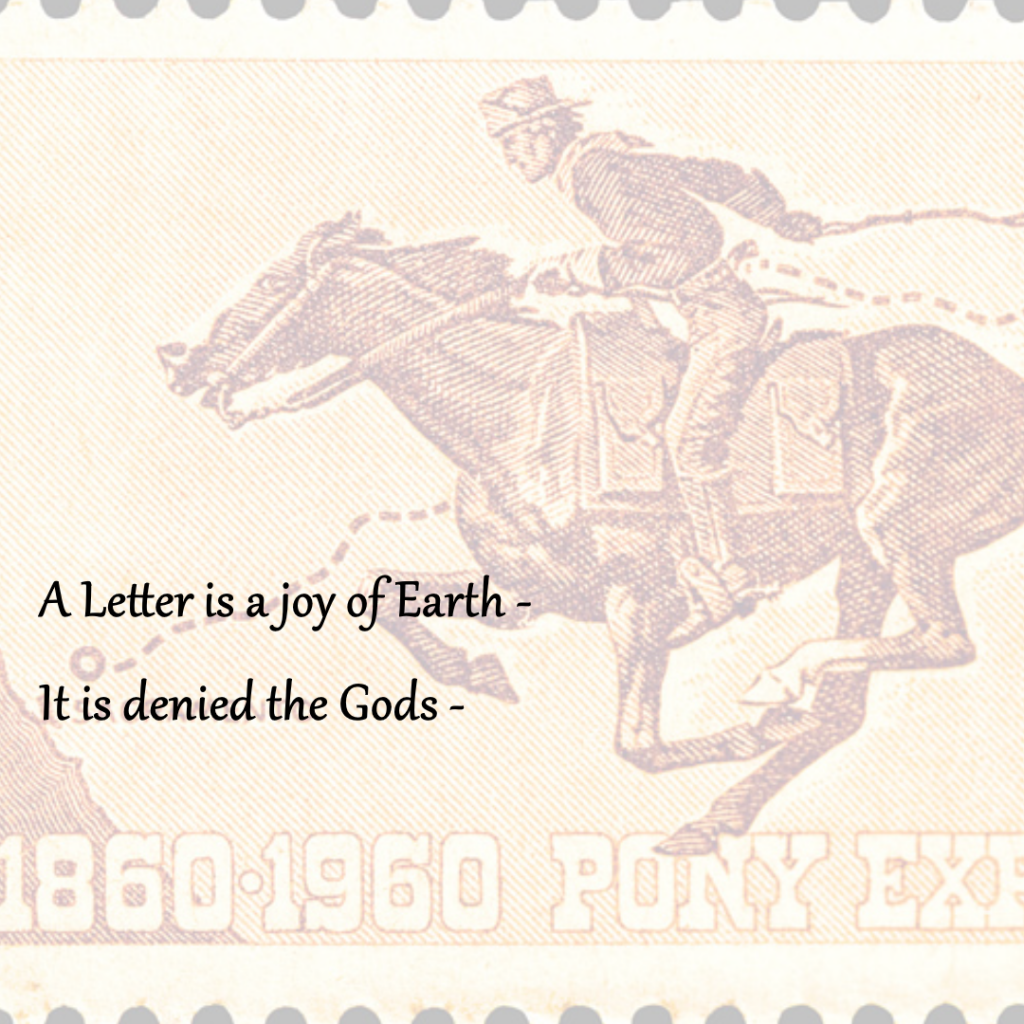 4 Cent Pony Express Centennial, 1960, United States Post Office